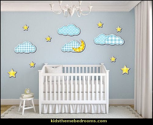 Sky Themed Nursery Thenurseries
