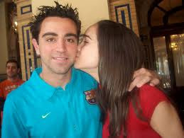 Xavi Hernandez With Girlfriend All About Football Players picture wallpaper image
