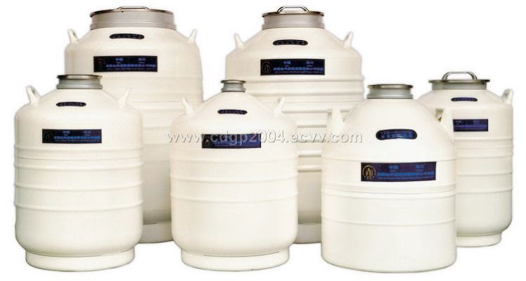 Liquid Nitrogen Container (Container Nitrogen untuk Straw)