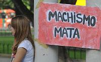 Machismo Mata - cartaz da Marcha das Vadias em Recife