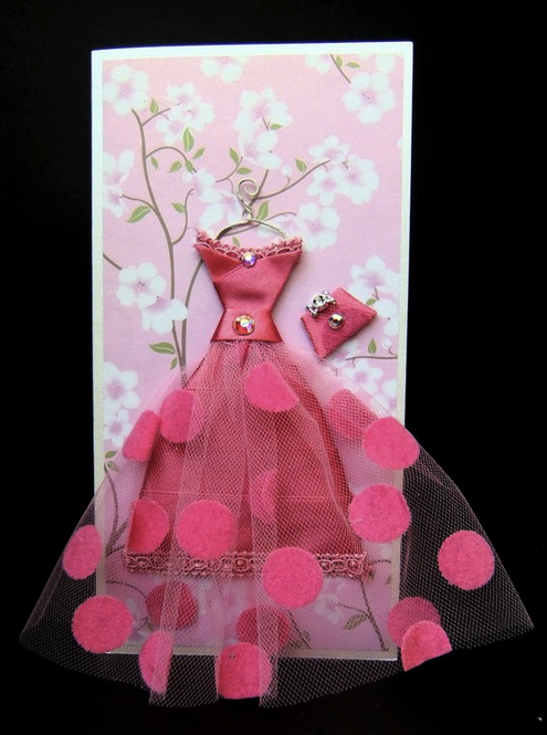 Creative 3d dress greeting cards the idea king for Creative christmas cards