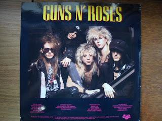 Loja de discos de vinil raros - Guns n Roses