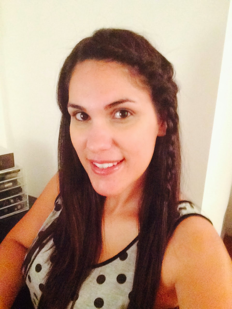Part Your Hair To One Side, Not In The Middle, Just A Little More The Day  After French Braids