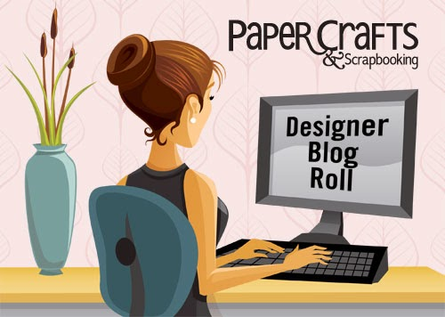 I'm on Paper Crafts & Scrapbooking Mag's Blog Roll!