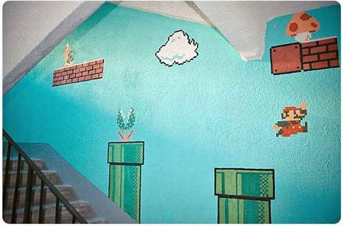 Quiero pintar mi casa como el juego de mario videos - Quiero pintar mi casa ...