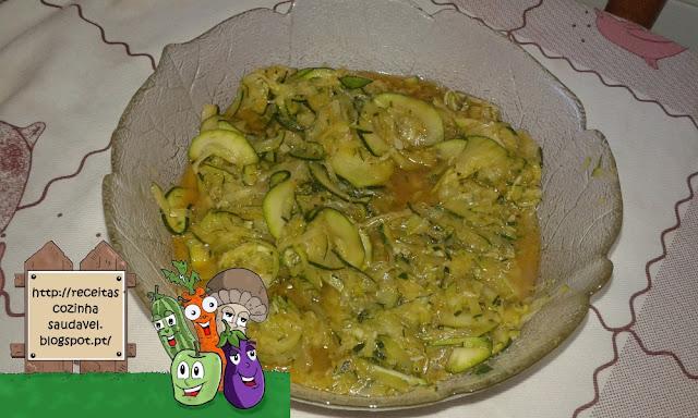Courgette Salteada