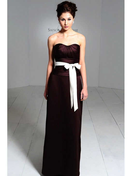 Dream wedding place bridesmaid dresses the brown ones for Brown dresses for a wedding