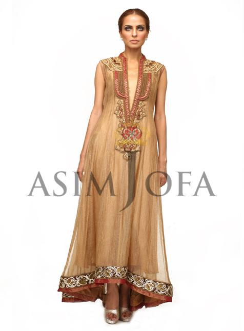 LongkameezDesigns201328429 - Asim Jofa Semi Formal Long kameez Designs 2013 | Asim Jofa 2013