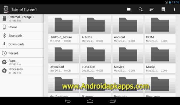 Free Download Explorer+ File Manager Pro v2.3.3 Patched Full Apk Terbaru 2015