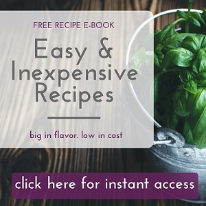 Easy and Inexpensive Recipes e-book