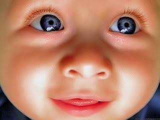 Hermoso primer plano de bebe