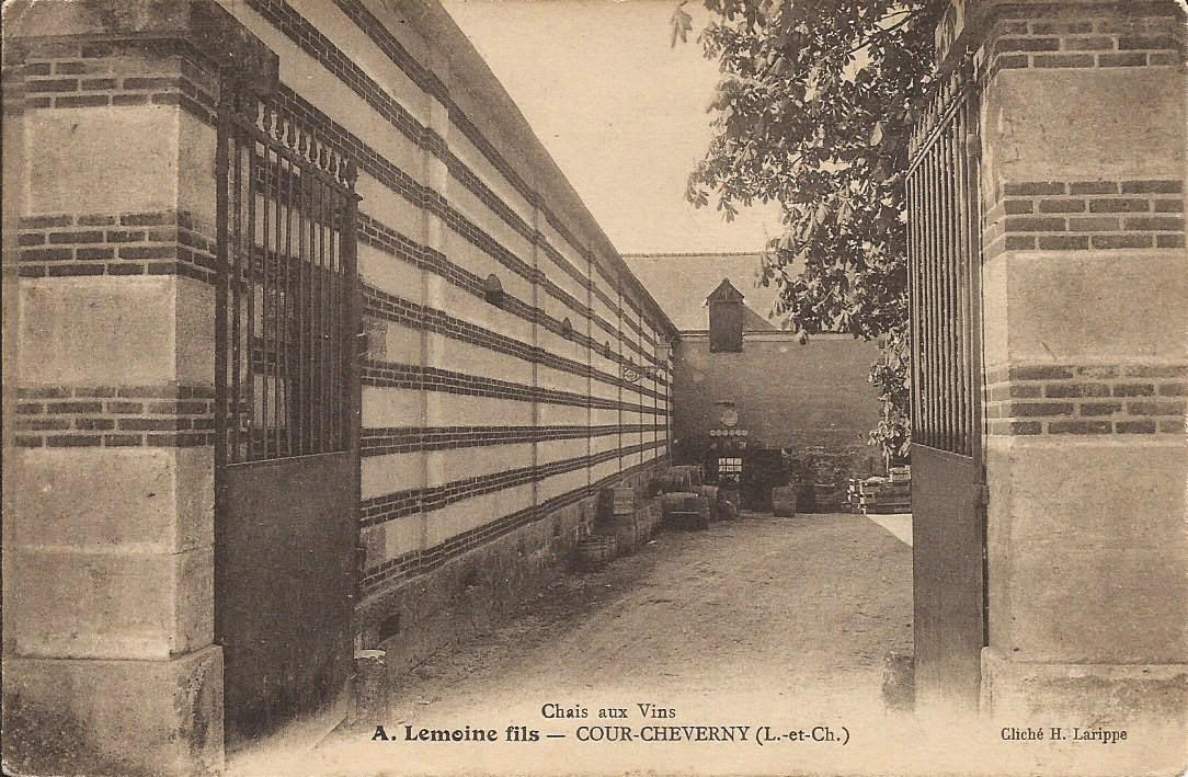 Chais aux Vins - A. Lemoine fils - Cour-Cheverny