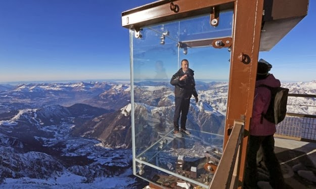 New Glass Room Installation In The French Alps