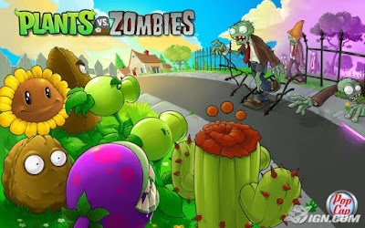 Game Petualangan Plant and Zombie