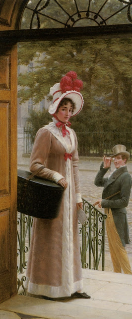 Edmund Blair Leighton,cute girl,genre