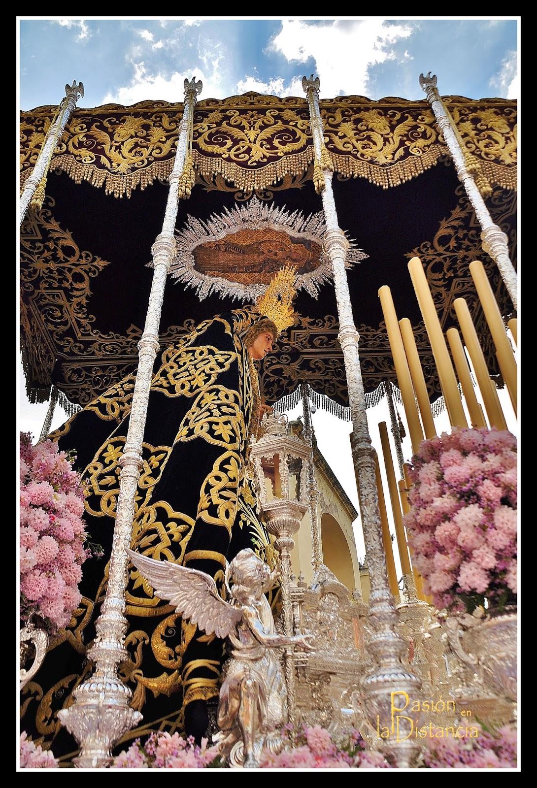 Virgen de los Dolores del Cerro del Aguila Martes Santo 2014