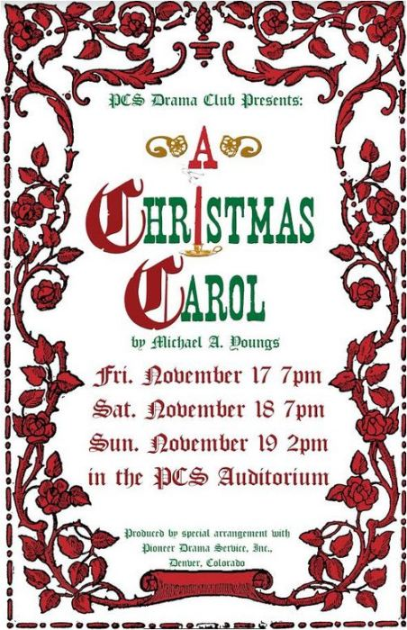 "11-19 Portville Central School ""A Christmas Carol Play"""