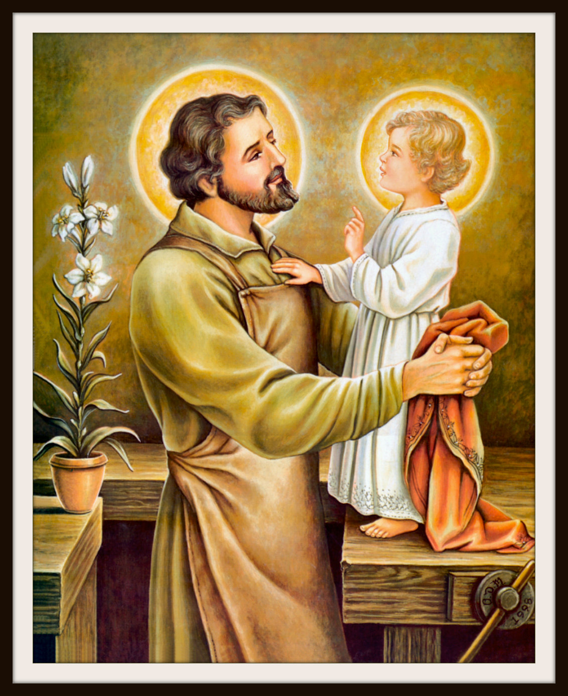 Image result for lovely picture of St.Joseph