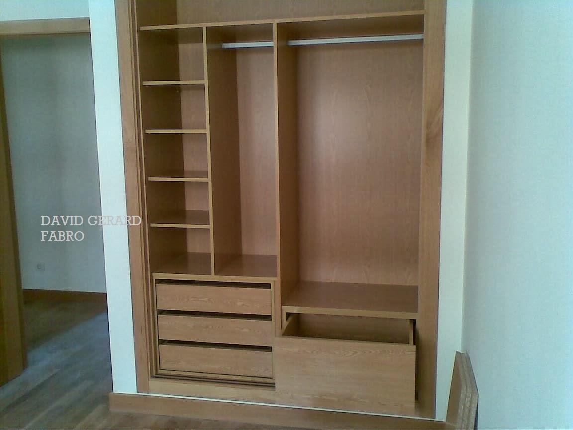 Todo en carpinter a bricolaje y decoraci n diciembre 2013 - Cajoneras interior armario ...