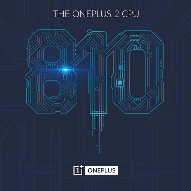 OnePlus 2 dikonfirmasikan menggunakan prosesos octa-core 1,8 Ghz snapdragon 810 v2.1