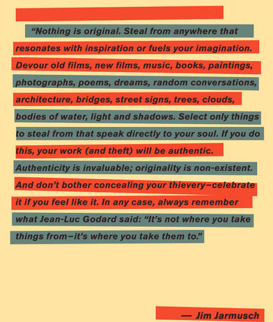 COPYRIGHT MANIFESTO by film-maker Jim Jarmusch ...