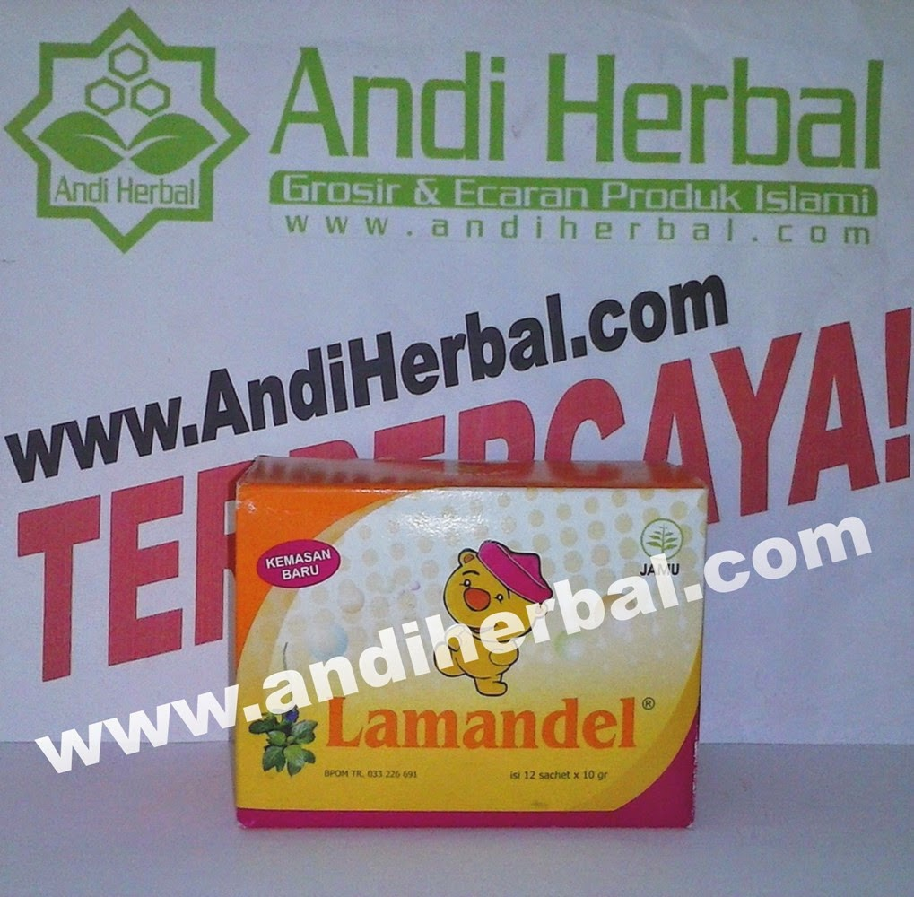 Lamandel Herbal Amandel Tanpa Operasi Andiherbal.com