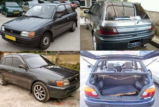 Toyota Starlet 1.3 Xli/EP81 – tahun 1992