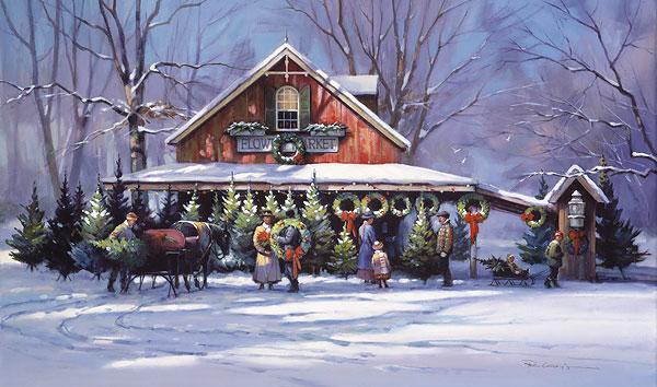 Countdown to Christmas - Paul Landry | The Prints.Com Blog