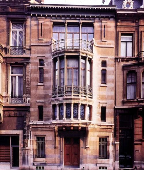 Designer saves the art nouveau arquitectura casa tassel Art nouveau arquitectura