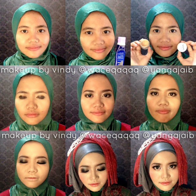 Model 4. Tips Tutorial Make Up Hijab Modern image