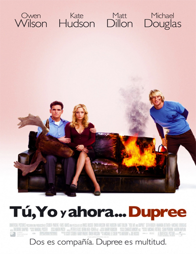 Ver Tres son multitud (You, Me and Dupree) (2006) Online