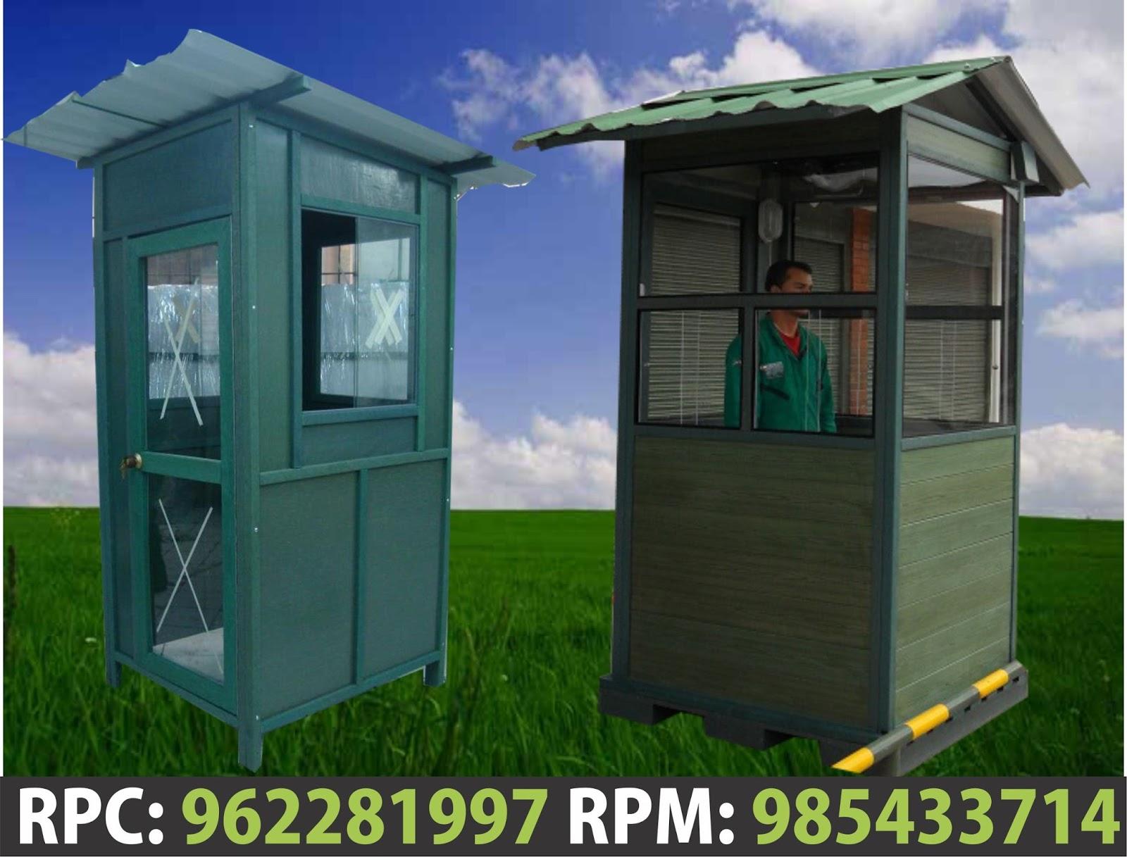 Casetas de seguridad y o vigilancia en peru for Casas y casetas prefabricadas