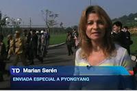 Marián Serén sustituyó a Almudena Ariza en la corresponsalía de Pekín