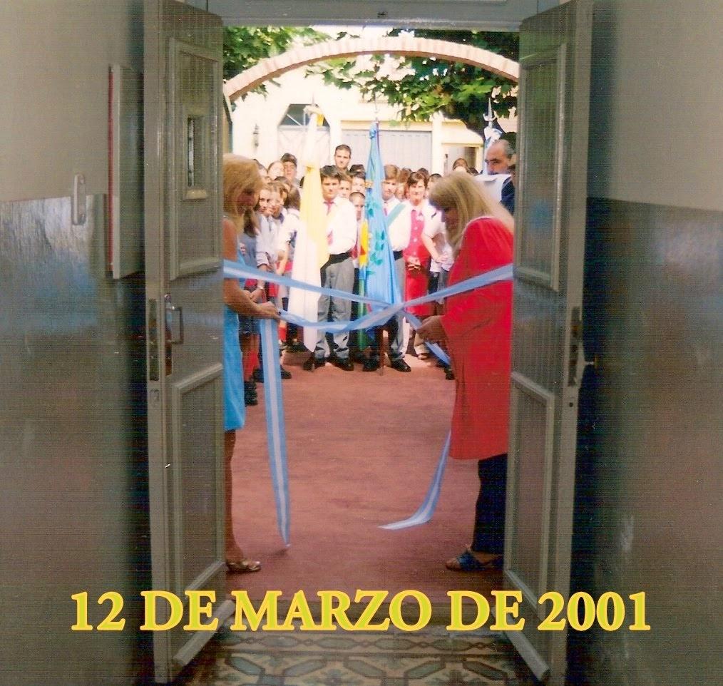 Inaugurado en 2001