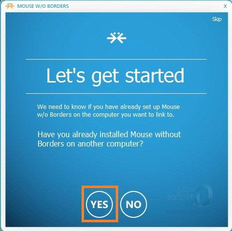 إستخدام لوحة مفاتيح وفأرة واحدة مع أكثر من حاسوب في نفس الوقت Mouse without Borders