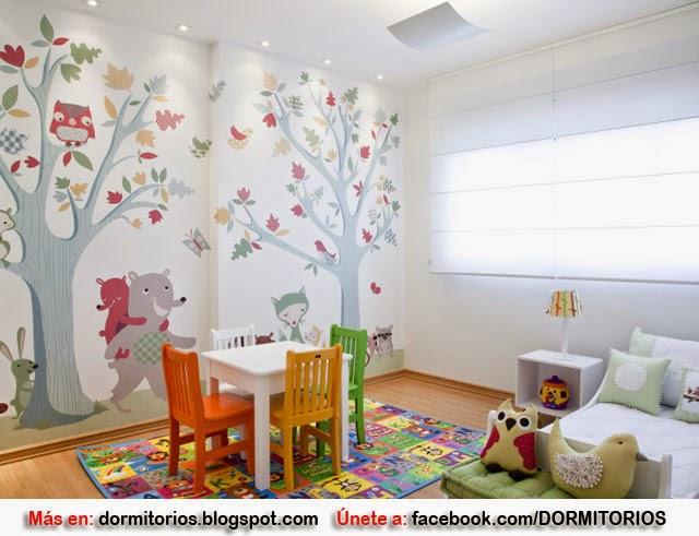 Habitaci n para ni a peque a decoracion de dormitorios - Habitacion pequena nina ...