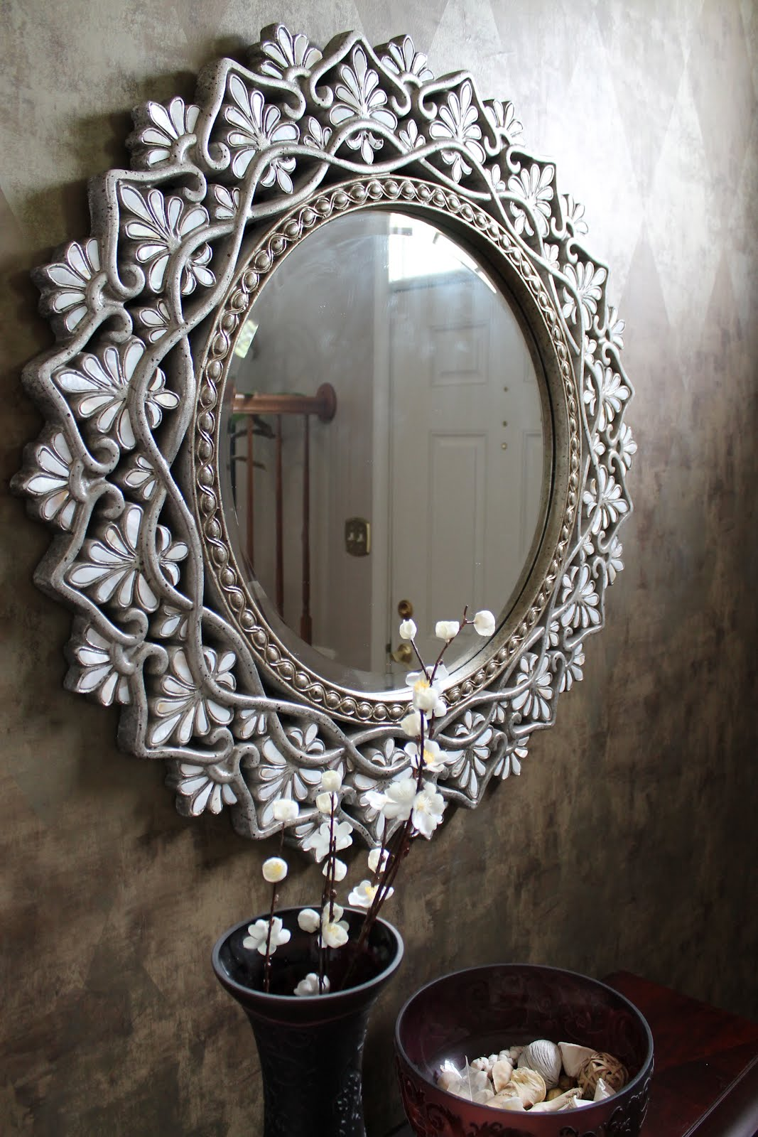 The style matrix april 2012 for Small decorative mirrors