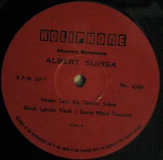 Albert Suissa - Hasan Tani Ala Slamtic Sidna - Zakiphon by CBSilver