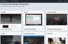 Bootstrap Zero: plantillas y temas para Bootstrap para descargar gratis