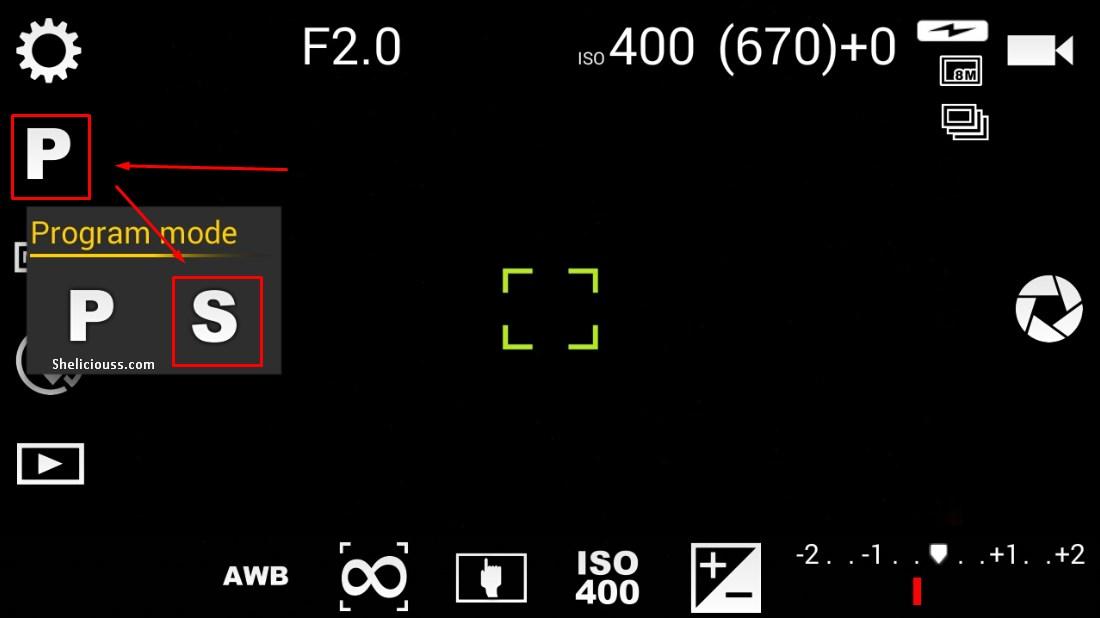 Long Expsure Menggunakan Kamera Ponsel Dengan Aplikasi Camera Fv 5