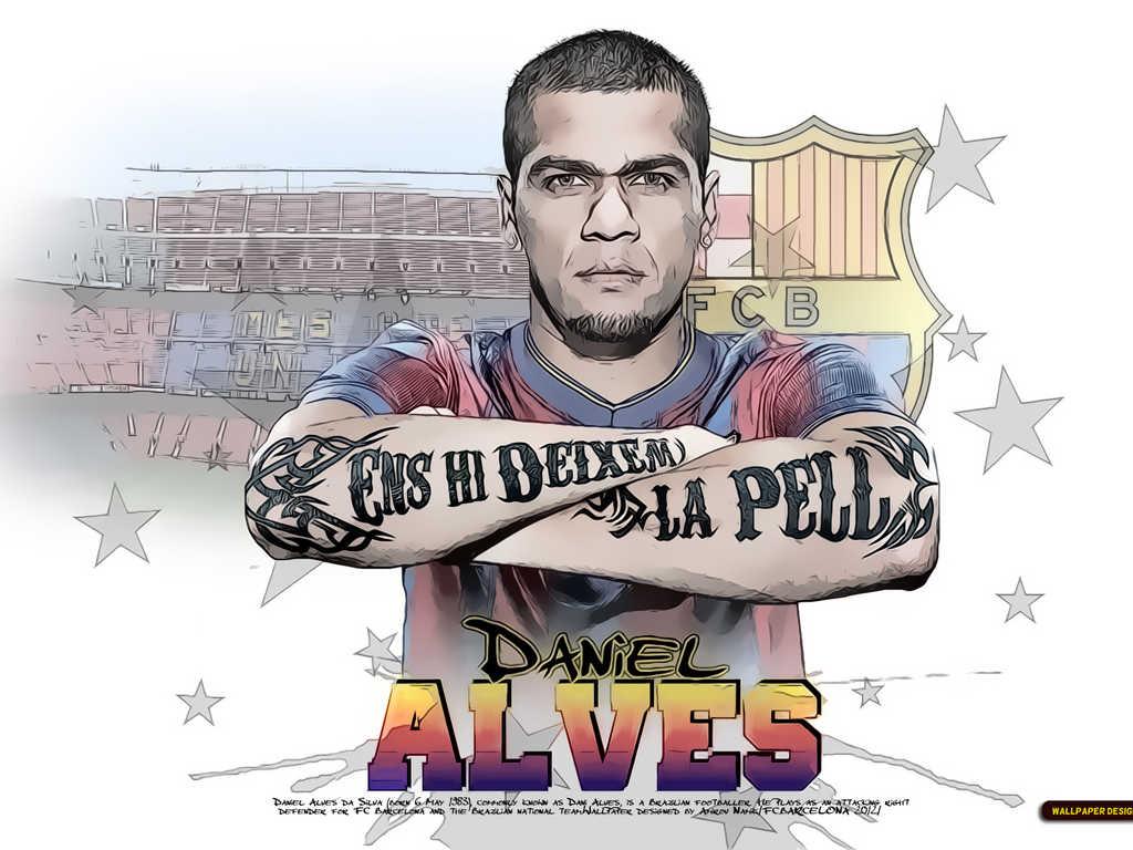 Dani Alves Tattoo wallpaper 2012 info :