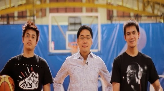 PBA Rookies RR Garcia and Terrence Romeo with Tunying