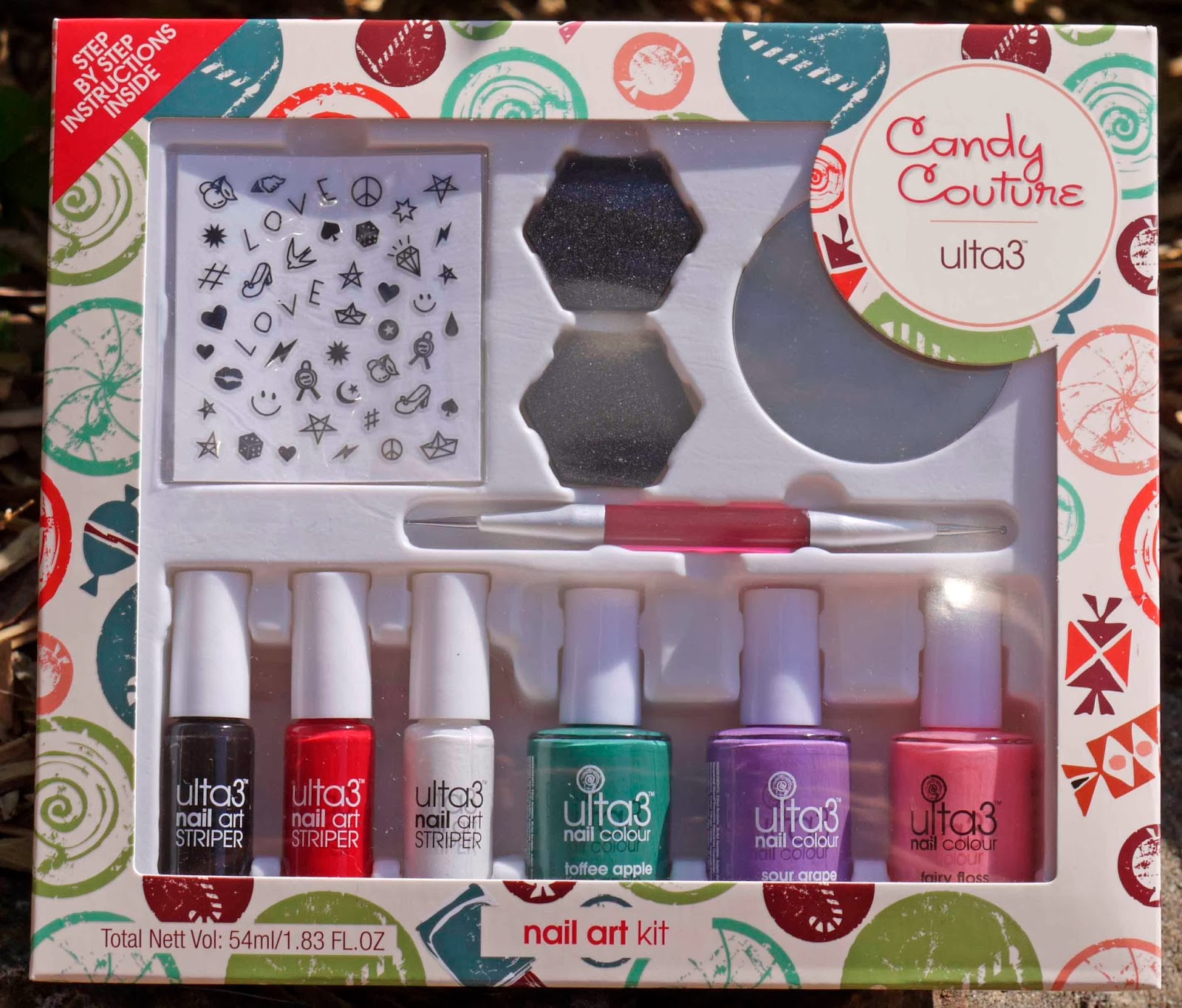 Loki\'s Lacquer: Ulta 3 Candy Couture Nail Art kit Review