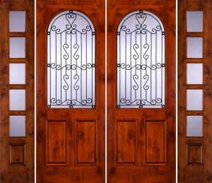 Puertas r sticas para casas o caba as proyectos de casas for Modelos de puertas principales de casas