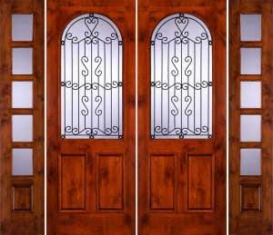 Puertas r sticas para casas o caba as proyectos de casas for Puertas para dentro de casa