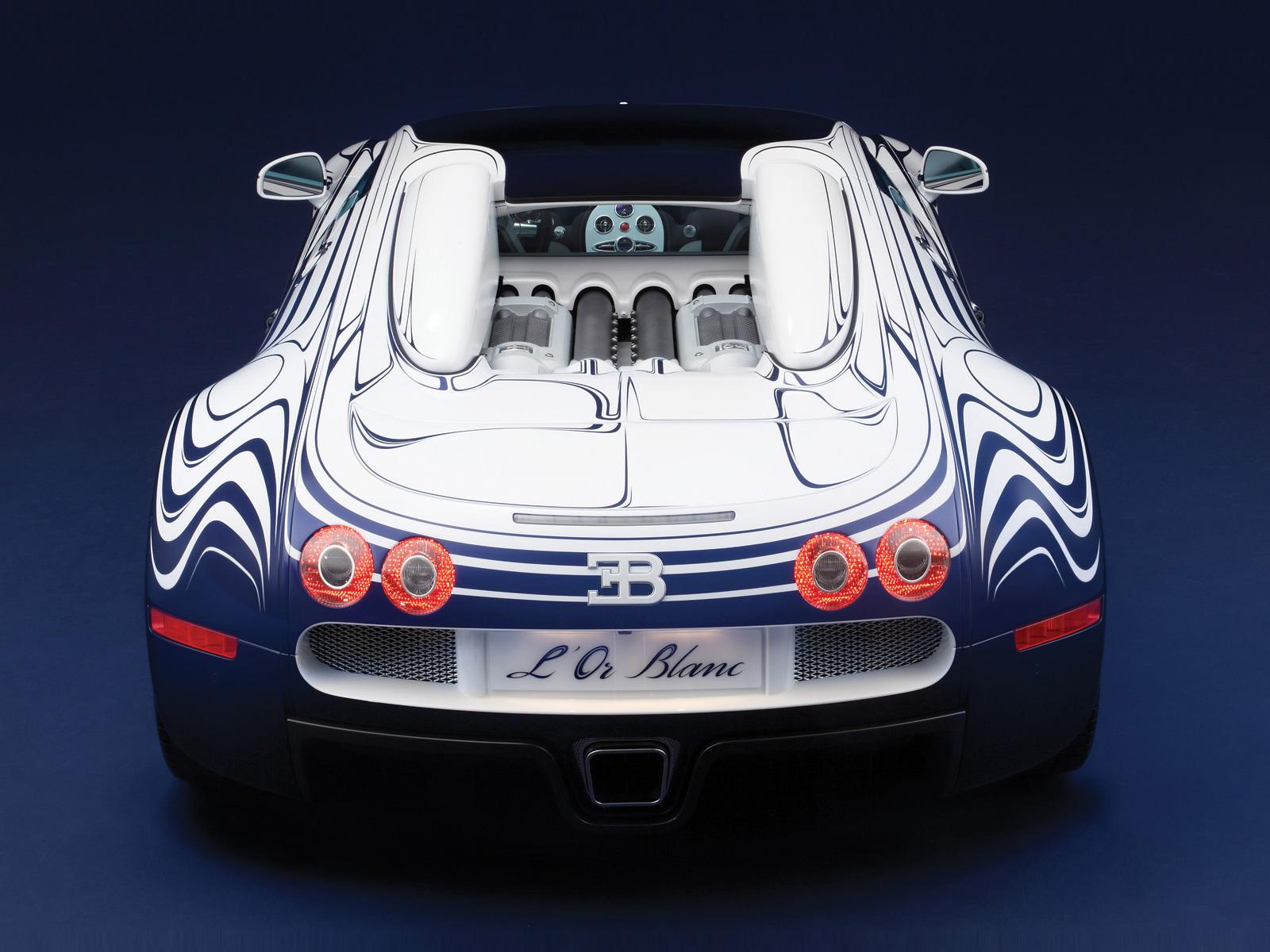 Bugatti Veyron Grand Sport LOr Blanc  2011    Auto Cars Concept