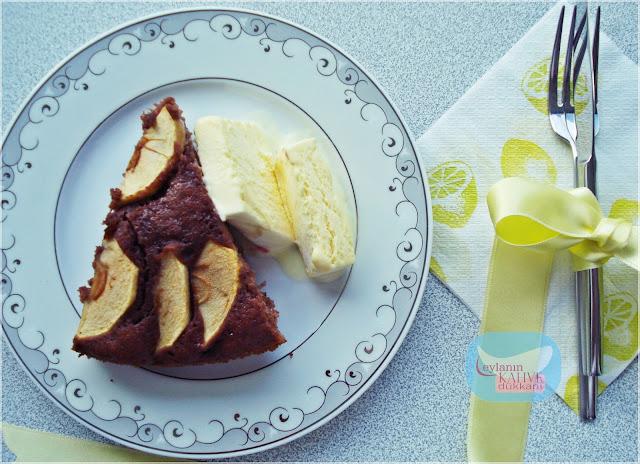 zencefilli elmalı kek