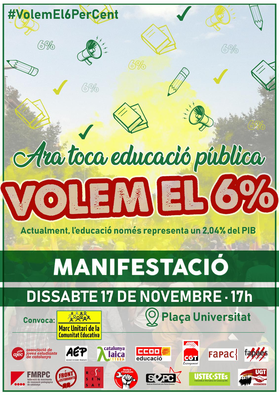VOLEM EL 6%!!