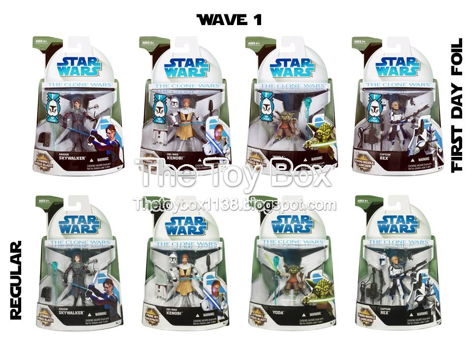 The Toy Box: Star Wars - The Clone Wars (Collection I and II) (Hasbro)