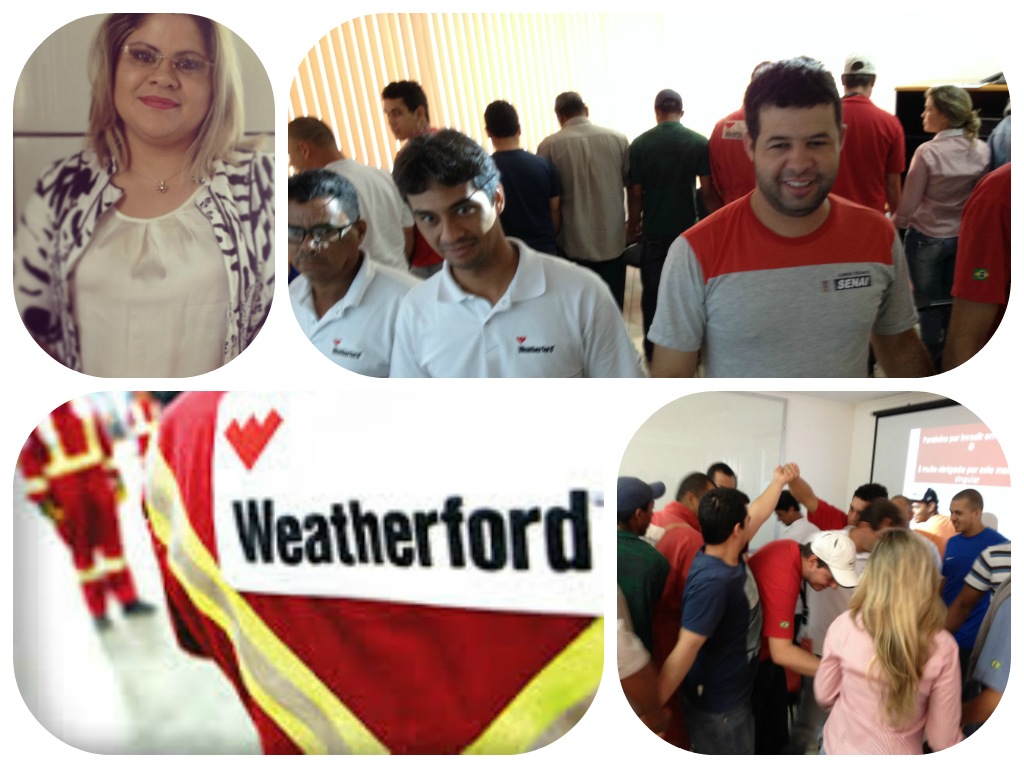Mais uma palestra na empresa Weatherford! Equipe animadíssima!!! #CoachingDeVida #CoachingExec